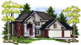 Traditional House Plan 73192 Elevation