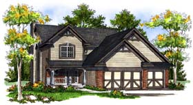 Country House Plan 73195 Elevation