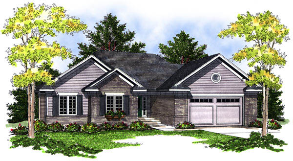 Traditional House Plan 73201 Elevation