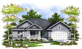 Plan Number 73202 - 1496 Square Feet