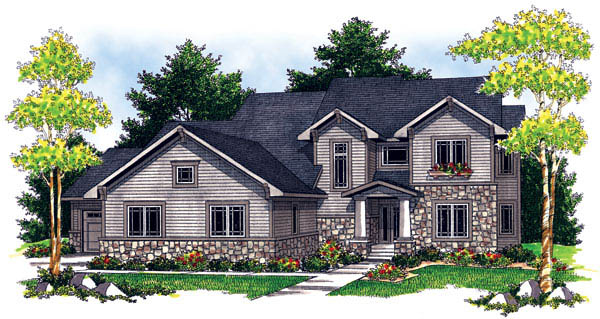 Traditional House Plan 73209 Elevation