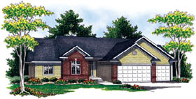 Ranch Traditional House Plan 73213 Elevation