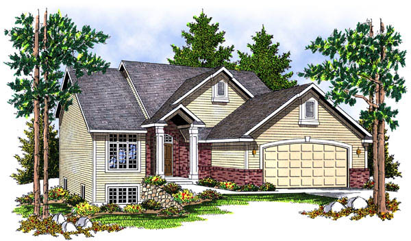 Contemporary House Plan 73221 Elevation