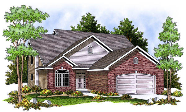 Traditional House Plan 73222 Elevation