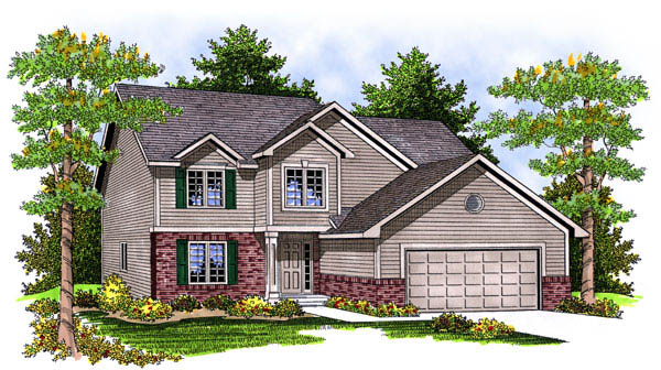 Traditional House Plan 73223 Elevation