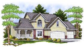 Farmhouse House Plan 73224 Elevation