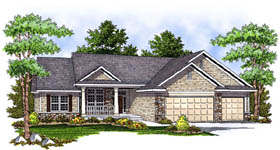 Traditional House Plan 73225 Elevation