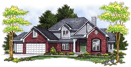 Traditional House Plan 73247 Elevation