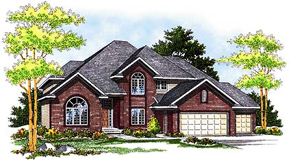 Traditional House Plan 73248 Elevation