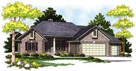 Traditional House Plan 73251 Elevation