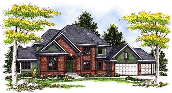 Traditional Tudor House Plan 73266 Elevation