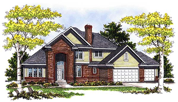 Traditional Tudor House Plan 73267 Elevation