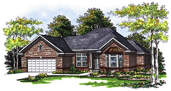 Traditional House Plan 73275 Elevation