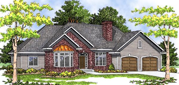 Craftsman House Plan 73279 Elevation