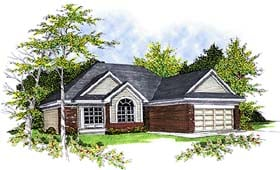 Traditional House Plan 73284 Elevation