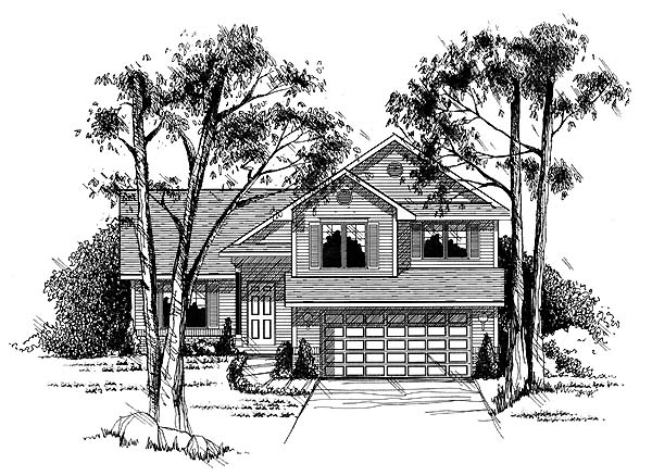 Country House Plan 73286 Elevation