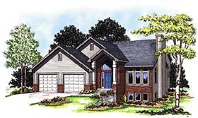 Contemporary Craftsman House Plan 73291 Elevation