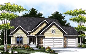 Craftsman House Plan 73295 Elevation