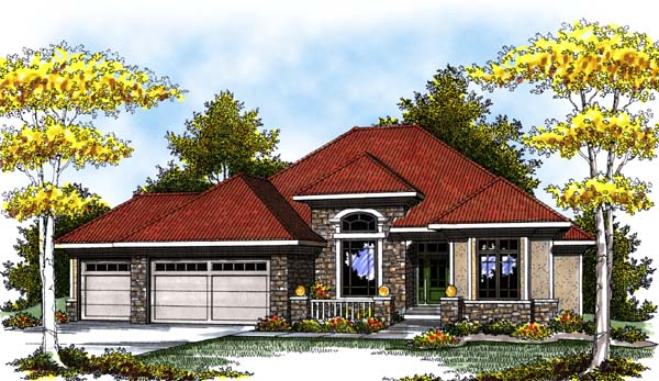 Mediterranean House Plan 73297 Elevation