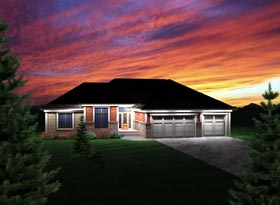 Ranch House Plan 73298 Elevation