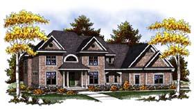 Craftsman Traditional House Plan 73303 Elevation