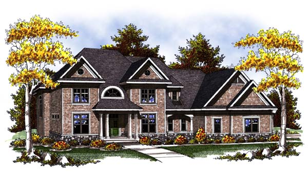 Craftsman Traditional House Plan 73303 Elevation