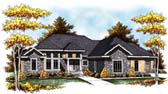 Plan Number 73307 - 3606 Square Feet