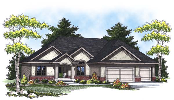 Traditional House Plan 73315 Elevation