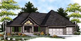 Country Craftsman Ranch House Plan 73316 Elevation