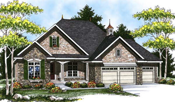 Country House Plan 73318