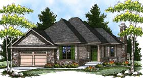 Contemporary Traditional House Plan 73323 Elevation