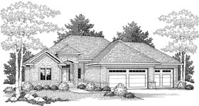 Traditional House Plan 73325 Elevation