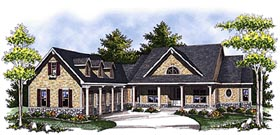 Cape Cod Country House Plan 73328 Elevation