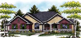 Traditional House Plan 73331 Elevation