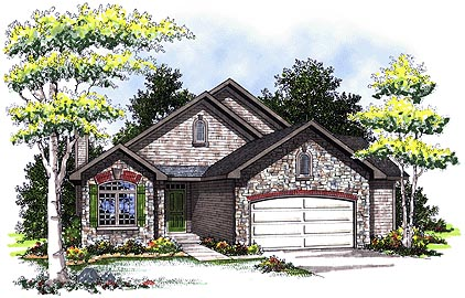 Traditional House Plan 73332 Elevation