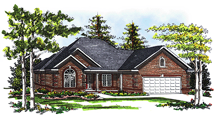 Traditional House Plan 73338 Elevation