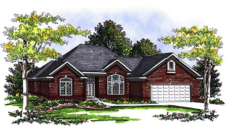 Traditional House Plan 73339 Elevation