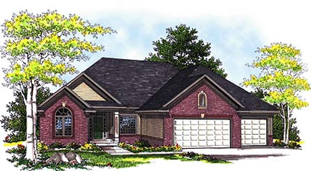 Traditional House Plan 73340 Elevation