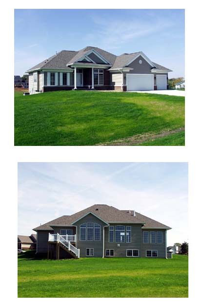 European, One-Story, Traditional House Plan 73351 with 2 Beds, 2 Baths, 3 Car Garage Picture 1