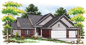 Traditional House Plan 73353 Elevation