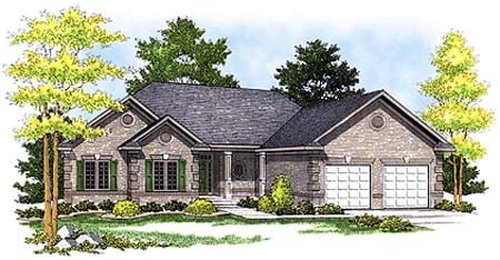 Traditional House Plan 73356 Elevation