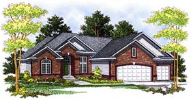 Traditional House Plan 73361 Elevation