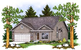 Traditional House Plan 73375 Elevation