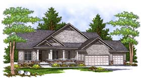 Craftsman Traditional House Plan 73393 Elevation
