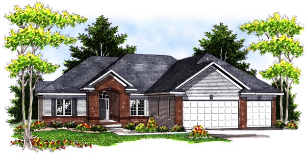 Traditional House Plan 73398 Elevation