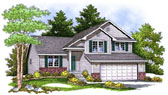 Plan Number 73401 - 1672 Square Feet