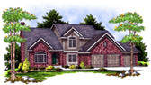 Plan Number 73402 - 2763 Square Feet