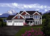 Plan Number 73405 - 3160 Square Feet