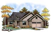 Plan Number 73407 - 1354 Square Feet