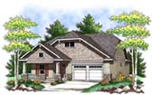 Plan Number 73409 - 1372 Square Feet